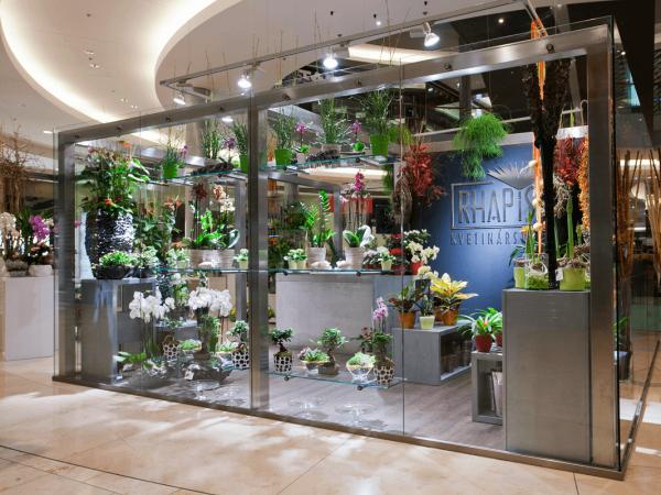 Luxusné kvetinárstvo Rhapis v EUROVEA