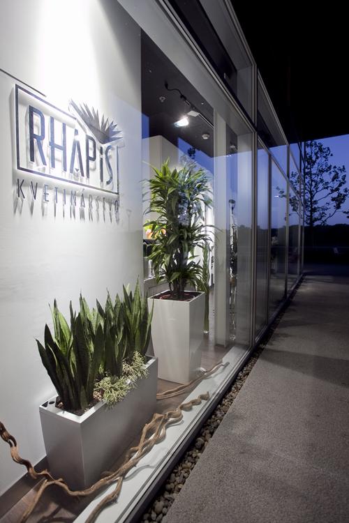 Luxusné kvetinárstvo Rhapis v RIVER PARK